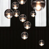 Stage Ball 1pc Engineering Led Meteor Lamp Creative Pendant Light