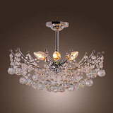 Lights Chandelier Luxuriant Crystal