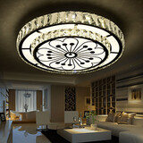 Led Modern/contemporary Flush Mount Dining Room Bedroom Crystal Living Room