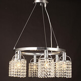 Others Tiffany Feature For Crystal Metal Max 40w Living Room Pendant Light