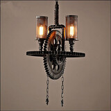 Industrial Restaurant Bar Cafe Wind Pendant Personalized