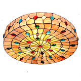 Living Room Flush Mount Retro Light Dining Room Inch Ceiling Lamp