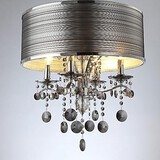 Crystal Pendant Lights Living Room Modern/contemporary 40w Metal