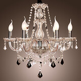 Chandelier Feature For Crystal Living Room Others Lodge Rustic Glass