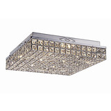 Bedroom Modern/contemporary Led Metal Flush Mount 3w Chrome Feature For Crystal Hallway Living Room