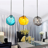 Pendant Electroplating Transparent Style Light