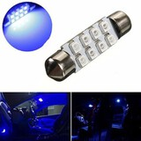 Dome Light Festoon Bulb LED Blue SMD Car 39MM