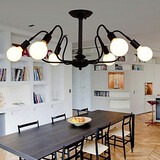 Loft Bar Iron Fashion Vintage Lights Ceiling Lamp