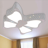 Flush Mount Metal Bedroom Butterfly Dining Room Modern Kids Room
