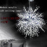 Pendant Lights Globe Led Chandeliers Crystal Study Room 100 Living Room
