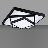 Bedroom Dining Room Kitchen Mini Style Painting Metal Flush Mount Modern/contemporary Living Room Led