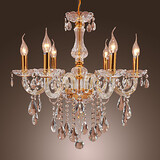 Feature For Crystal Metal Entry Study Room Office Dining Room Gold Chandelier