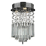 Dining Room Feature For Crystal Metal Bedroom Modern/contemporary Flush Mount Max 50w Living Room Electroplated