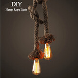 Diy Art Long Creative Rope Hemp Light Bulb