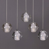 Bulb Included Ball G4 Pendant Light 3w Led Light Crystal