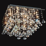 Feature For Crystal Metal Traditional/classic Chandelier Chrome Dining Room Living Room Bedroom