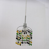 Electroplated Dining Room Pendant Light Entry Living Room Max 40w Feature For Crystal Metal