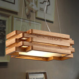 Study Room Bamboo Office Mini Style Dining Room Pendant Lights Wood Modern/contemporary Country