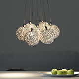 Max 20w Feature For Mini Style Metal Bedroom Pendant Light Dining Room Living Room Electroplated Modern/contemporary