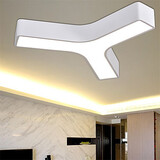 Bedroom Metal Modern Flush Mount Dining Room Living Room Led Study Room