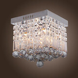 Crystal Mini Style Dining Room Entry Hallway Modern/contemporary Flush Mount Max 40w