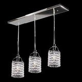 Metal Living Room Tiffany Max 40w Crystal Pendant Lights