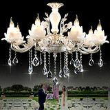 Crystal Chandeliers Office Metal Study Room Bedroom Modern/contemporary Dining Room