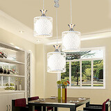 Droplight Three Contemporary Restaurant Creative Crystal And