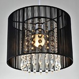 Pendant Light Dining Room Bedroom Modern/contemporary 40w Feature For Crystal Chrome Led Metal
