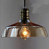 Retro Glass Pendant Lamp Industrial Simple