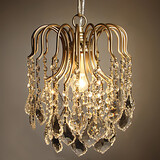 Side Amercian Decorate Crystal Indoor Retro Chandelier Lamp
