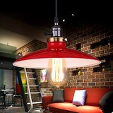 Ufo Industrial Study American Cafe Bars Loft Style Droplight