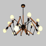 Metal Modern/contemporary Game Room Study Room Dining Room Office Chandeliers