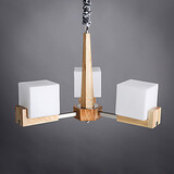 Living Room Ceiling Light Contemporary Design Decorative Bedroom New Modern Wooden