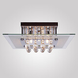 Living Modern Crystal Ceiling Light Lights