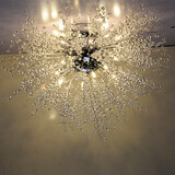 G4 Stainless Lamp Pendant Lights Led 100 Crystal Style Steel