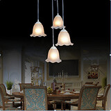 Painting Feature For Mini Style Metal Traditional/classic Dining Room Vintage Max 60w Pendant Light Retro