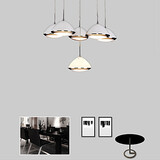 Kitchen Metal 12w Pendant Lights Led Dining Room Modern/contemporary