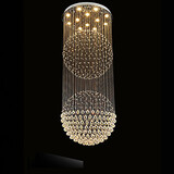Lights Crystal Canpoy Clear Pendant Light Led Lamps