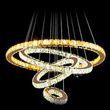 Round Crystal Warm White Led Clear K9