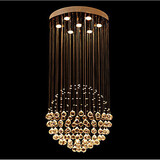 Modern Pendant Light Spherical Lamp Design Crystal Ceiling 100 Chandeliers