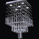 Chandeliers Crystal Flush Mount 1 Bulb