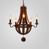 Living Vintage Office Hallway Deco Chandelier Dining Country Style