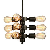 Retro Chandelier Light Edison
