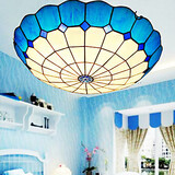 E27 Rural Led Absorb Glass Dome Arts Lamp Creative