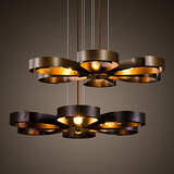 Bar Cafe Pendant Lamp Simple Ceiling Lights Retro Kitchen Pendant Hallway Balcony Metal