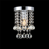 Crystal Home Lighting Foyer Flush Mount Entry Hallway Modern Restaurant