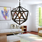 Hallway Living Room Chandeliers Dining Room Vintage Metal Study Room
