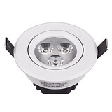 Ceiling Light Led 3w White Integrated Shade Modern