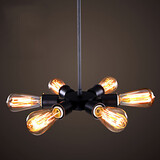 Style Chandelier Vintage Creative Dining Room Light Shop Head Northern